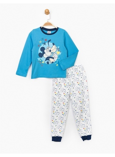 Mickey Mouse Set Mavi